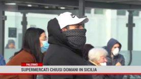 Supermercati chiusi domani in Sicilia