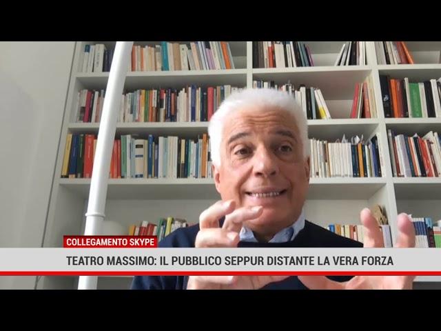 Teatro Massimo: il pubblico, se pur distante, la vera forza