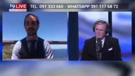 TONINO BASILE IMPRENDITORE USTICA IN DIRETTA TV SU TELE ONE IN 19 LIVE