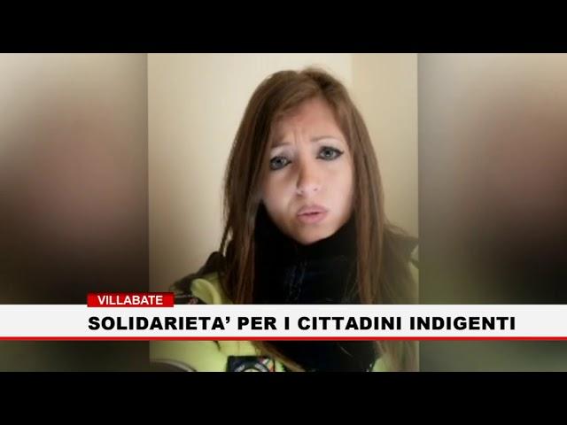 Villabate. Solidarietà per i cittadini indigenti