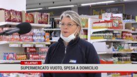 Villafrati, supermercato vuoto, spesa a domicilio