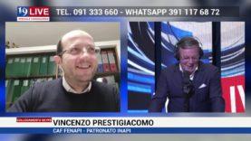 VINCENZO PRESTIGIACOMO CAF IN DIRETTA SU TELE ONE IN 19 LIVE