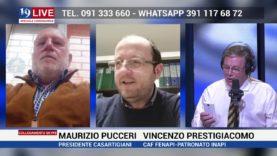 VINCENZO PRESTIGIACOMO E MAURIZIO PUCCERI IN DIRETTA SU TELE ONE IN 19 LIVE