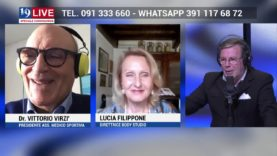 VITTORIO VIRZI e LUCIA FILIPPONE in diretta TV su TELE ONE in 19 LIVE