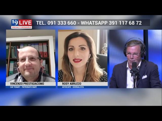 19 Live – Trasmissione in diretta TV su TELE ONE del 13 Maggio