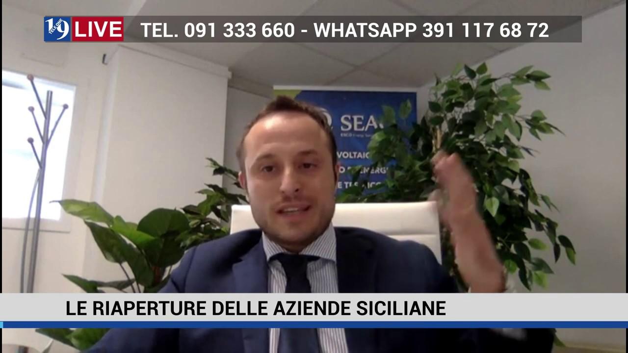 19LIVE LE RIAPERTURE DELLE AZIENDE SICILIANE