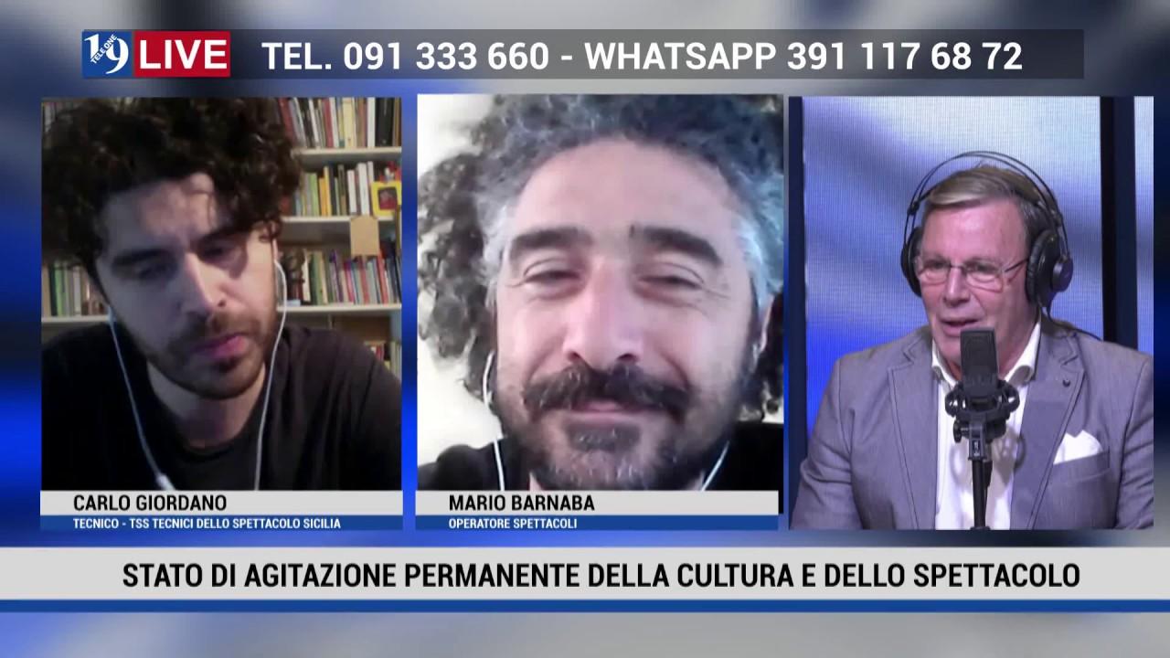 19LIVE STATODIAGITAZIONE PERMANENTE DELLA CULTURA E DELLO SPETTACOLO