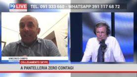 A Pantelleria zero contagi, l'intervista al Sindaco Vincenzo Campo
