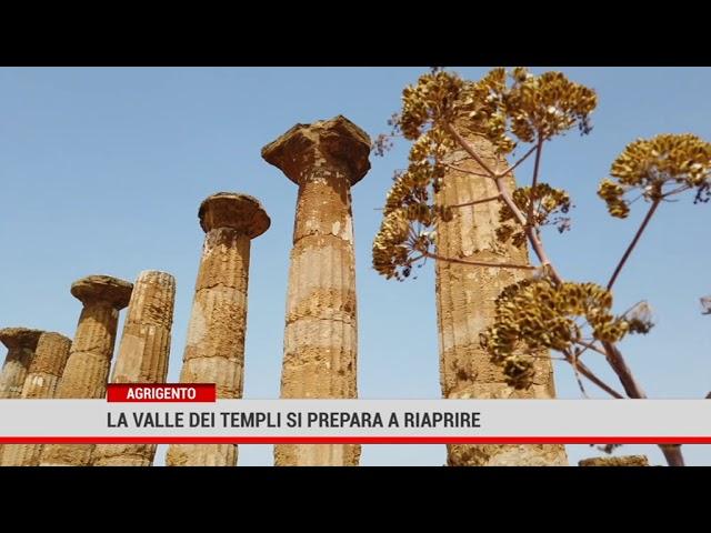 Agrigento. La Valle dei Templi si prepara alla riapertura