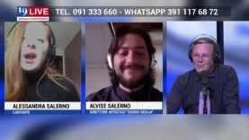 ALVISE SALERNO e ALESSANDRA SALERNO in diretta TV su TELE ONE in 19 LIVE