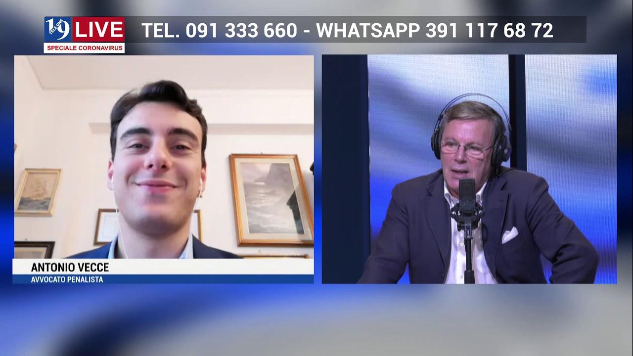 ANTONIO VECCE in diretta TV su TELE ONE in 19 LIVE