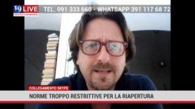 ASSESSORE AL TURISMO MNLIO MESSINA: NORME TROPPO RESTRITTIVE PER LA RIAPERTURA