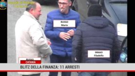 Catania. Blitz della finanza: 11 arresti