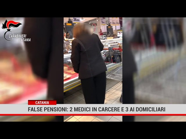 Catania. False pensioni: 2 medici in carcere e 3 ai domiciliari