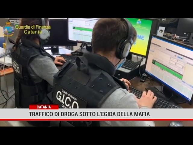 Catania.Traffico di droga sotto l'egida della mafia