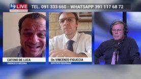 CATENO DELUCA e VICENZO FIGUCCIA in Diretta TV su TELE ONE in 19 LIVE