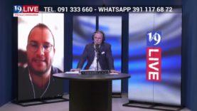 CLAUDIO COSTANTINO in Diretta TV su Tele One in 19 Live