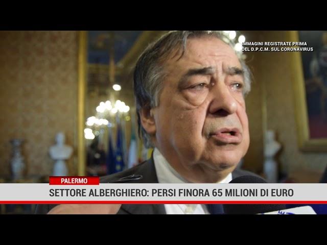 Fatturato meno 65 milioni settore alberghiero e ricettivo a Palermo
