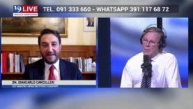 GIANCARLO CANCELLERI IN DIRETTA TV SU TELE ONE IN 19 LIVE