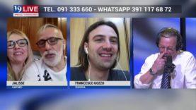 JALISSE E FRANCESCO GOZZO TEODOSIA IN DIRETTA TV SU TELE ONE IN 19 LIVE