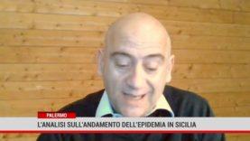 L'andamento sull'andamento dell'epidemia in Sicilia
