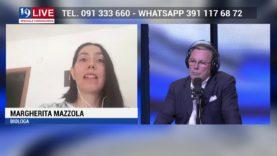MARGHERITA MAZZOLA BIOLOGA in Diretta TV su TELE ONE in 19 LIVE