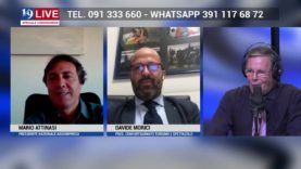 MARIO ATTINASI ASSOIMPRESA E DAVIDE MORICI CONFARTIGIANATO IN DIRETTA TV SU TELE ONE IN 19 LIVE