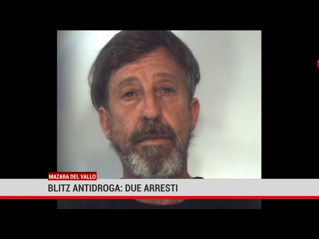 Mazara del Vallo. Blitz antidroga: 2 arresti