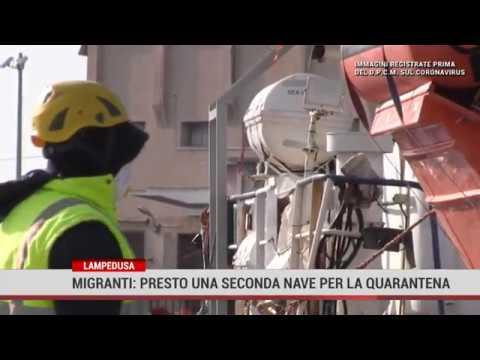 Migranti: presto una seconda nave per la quarantena