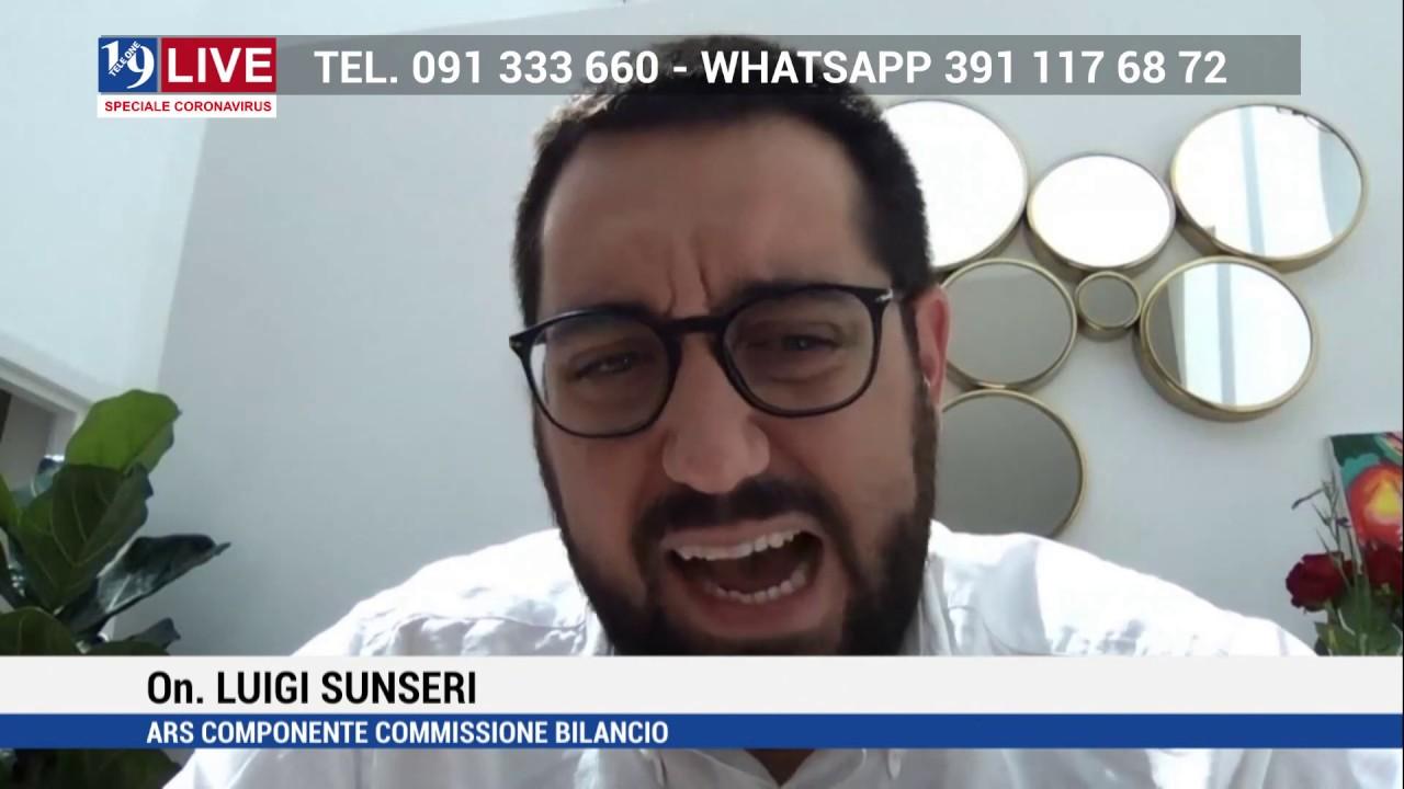 ON. LUIGI SUNSERI IN DIRETTA TV SU TELE ONE IN 19 LIVE