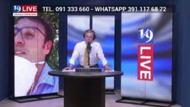 ON. VINCENZO FIGUCCIA IN DIRETTA TV SU TELE ONE IN 19 LIVE