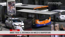 Palermo.Amat: fase due, distanza sui mezzi e riaperture