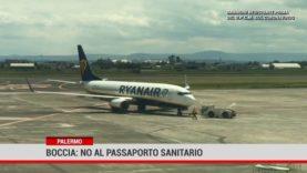 Palermo. Boccia: no al passaporto sanitario