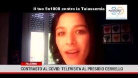 """Palermo. Contrasto al covid: arriva la televisita al presidio """"Cervello""""."""