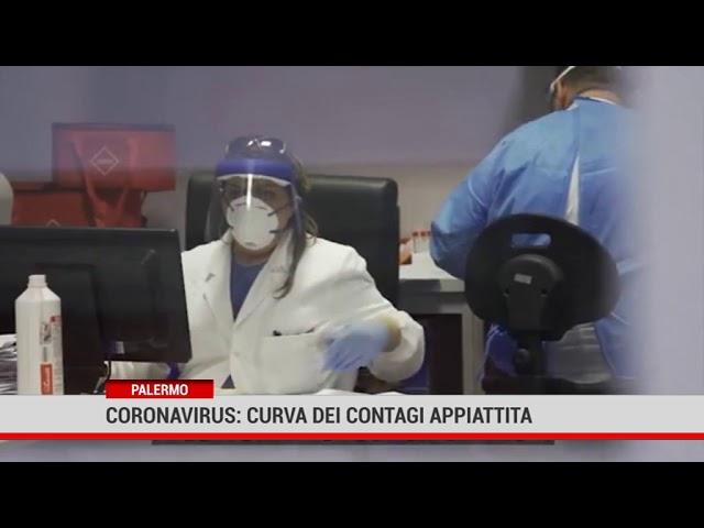 Palermo. Coronavirus: curva dei contagi appiattita