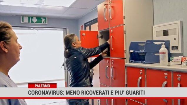 Palermo. Coronavirus: meno ricoverati e più guariti