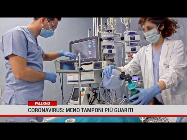 Palermo. Coronavirus: meno tamponi, più guariti
