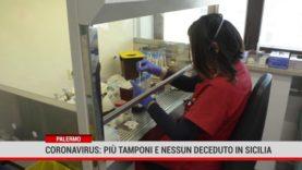 Palermo. Coronavirus: più tamponi e nessun deceduto