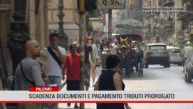 Palermo. Covid19 : proroga documenti in scadenza e pagamento tributi