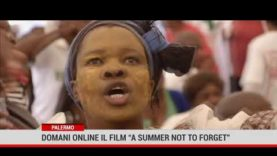 """Palermo. Domani online il film """" A summer not to forget"""""""