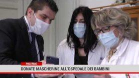 Palermo. Donate mascherine all' Ospedale dei bambini
