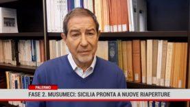 Palermo. Fase due. Musumeci: Sicilia pronta a nuove riaperture