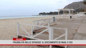 Palermo. Fruibilità delle spiagge. Pubblicato il documento di Inail e ISS