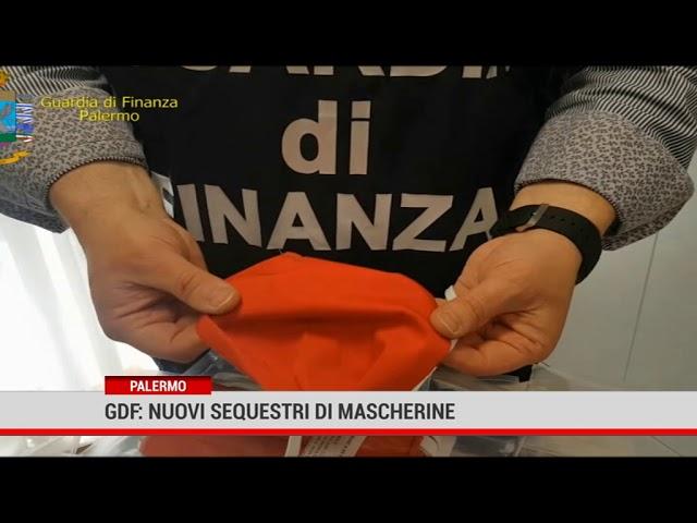 Palermo. Gdf: nuovi sequestri di mascherine