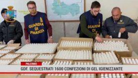 Palermo. GDF. Sequestrati 1600  confezioni di gel igienizzante