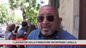 Palermo. I lavoratori della formazione incontrano Lagalla