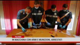 Palermo. In macchina con armi e munizioni, arrestati
