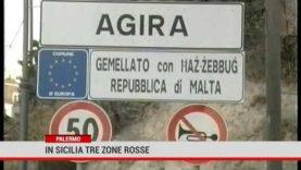 Palermo. In Sicilia tre zone rosse