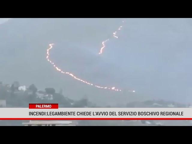 Palermo. Incendi: Legambiente chiede l'avvio del servizio boschivo regionale