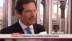 Palermo. L'opera di Domenico Pellegrino inbeneficienza.
